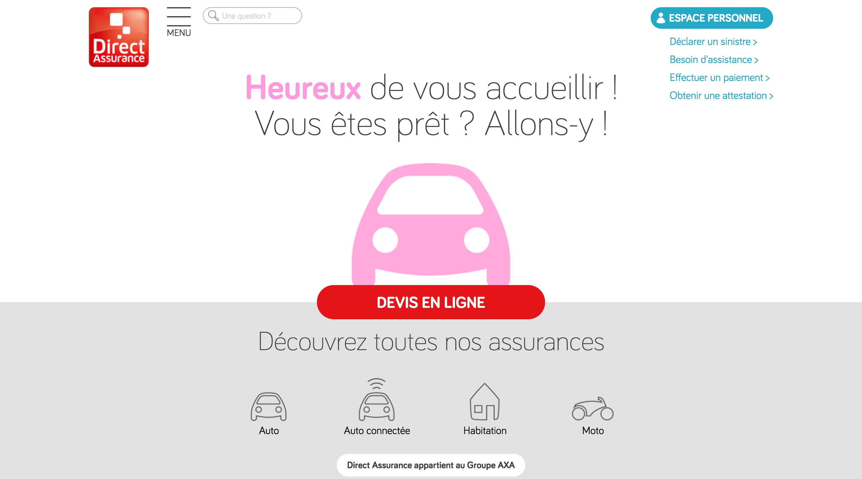 Mentions légales – Direct Assurance