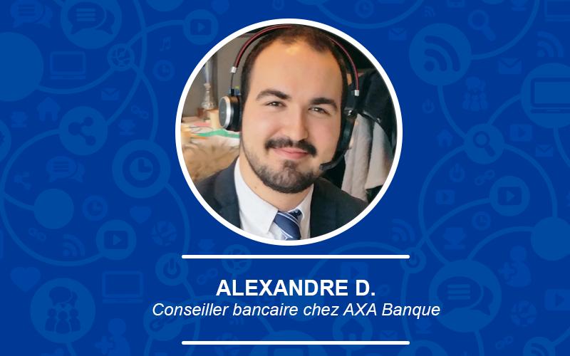 A la decouverte du métier de conseiller bancaire avec Alexandre