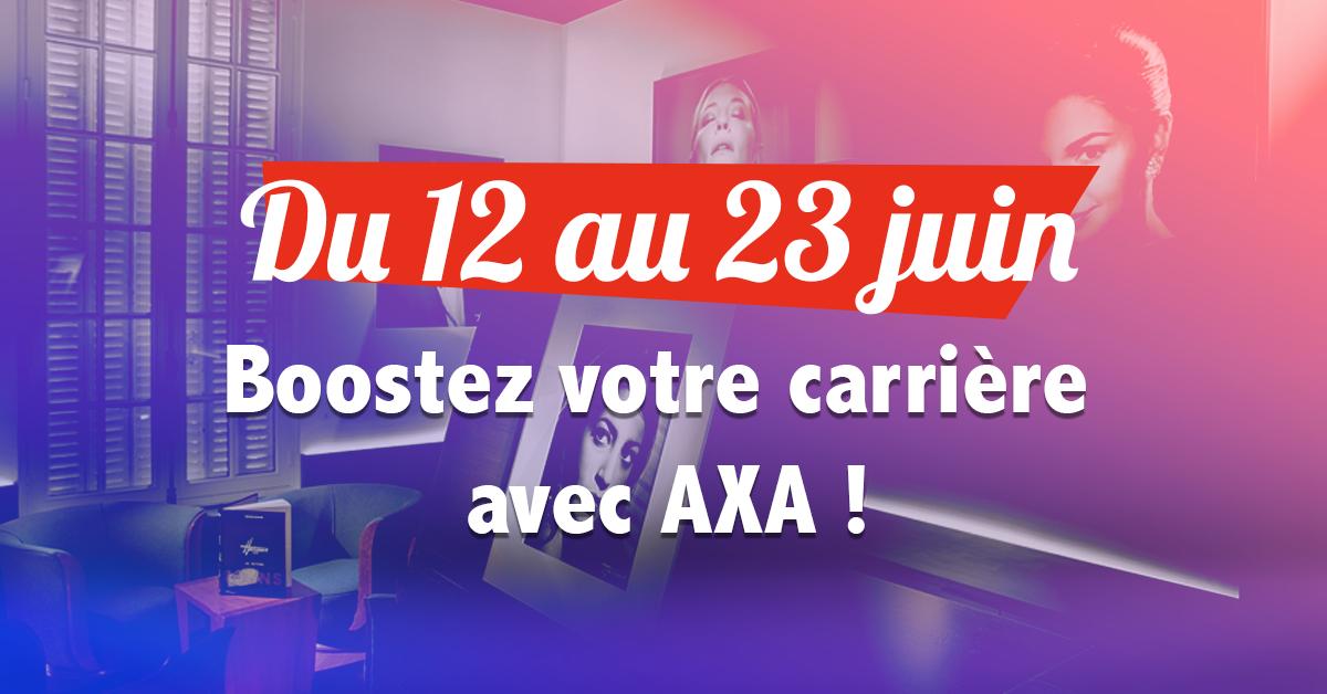 Participez au jeu-concours Boostez votre carrière avec AXA !
