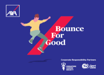 Celebrating Bouncing Back from Adversity: AXA Bounce for Good challenge